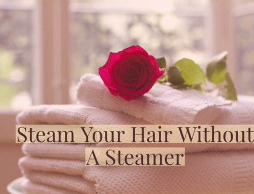 Dry Hair Remedy | Steam Your Hair Without A Steamer