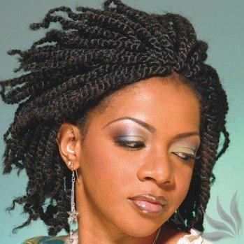 Kinky Twist Hairstyles for Black Women Twist