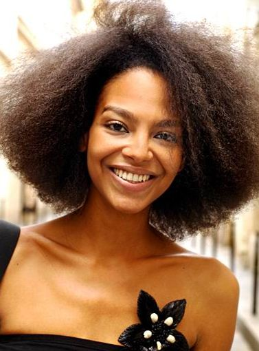 Hairstyles for curly natural hair african american