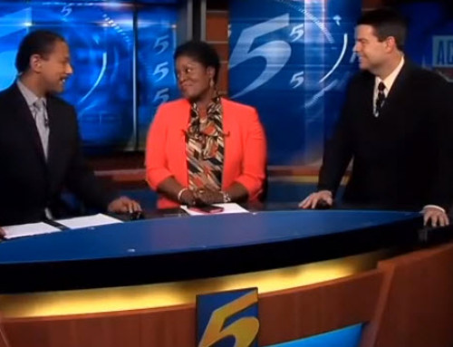 News Anchor Removes Wig  To Reveal Natural-Hair After Chemo