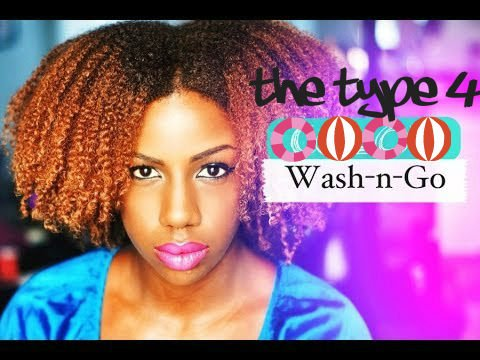 Hair Story: Is The Type 4 Wash And Go Really Taboo Or Is It All In Your Head?