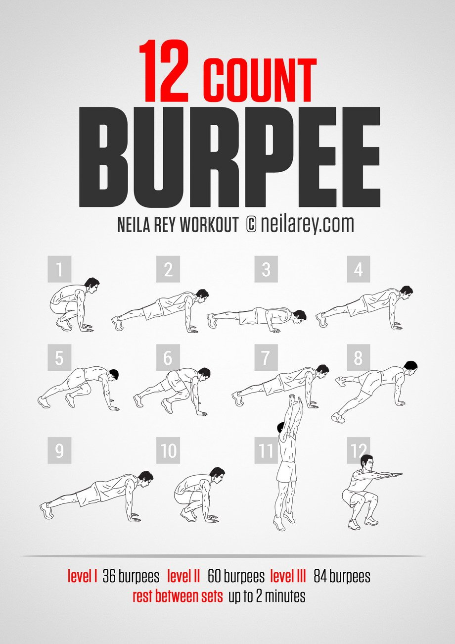 The Burpee Workout Curly Chic