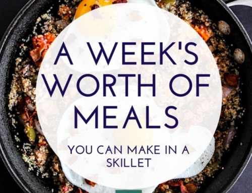 A Week's Worth Of Easy One-Skillet Recipes To Try