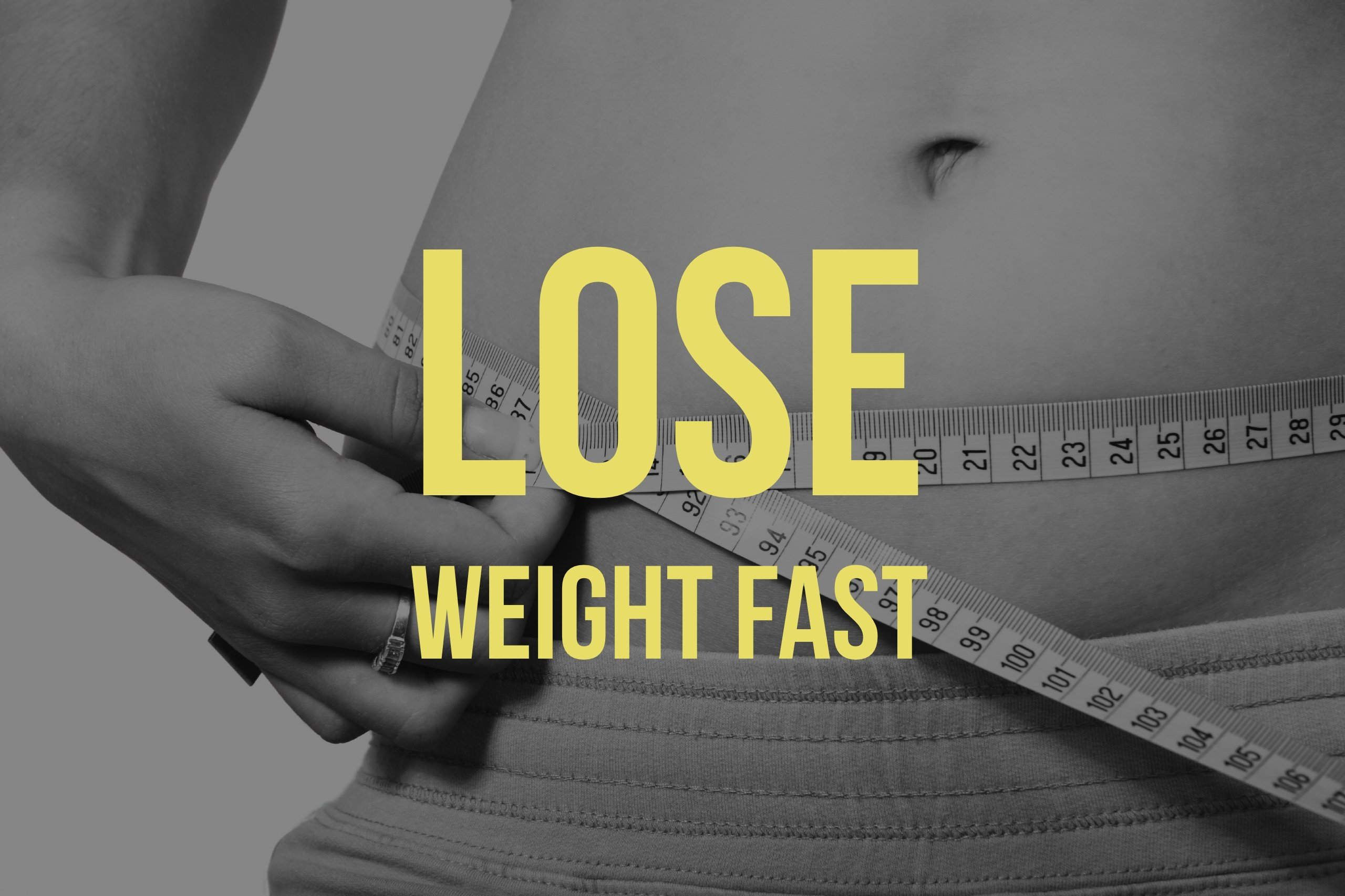 how to lose body fat around waist