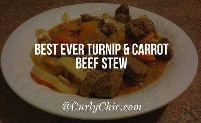 Best Ever Turnip and Beef Stew