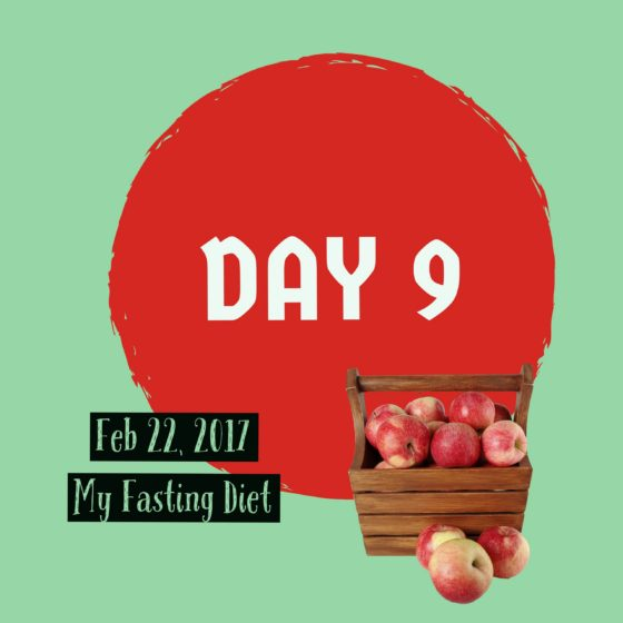 fasting diet day 9