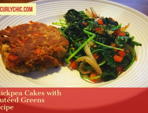 Chickpea Cakes & Sauteed Greens | Easy Vegan Recipes
