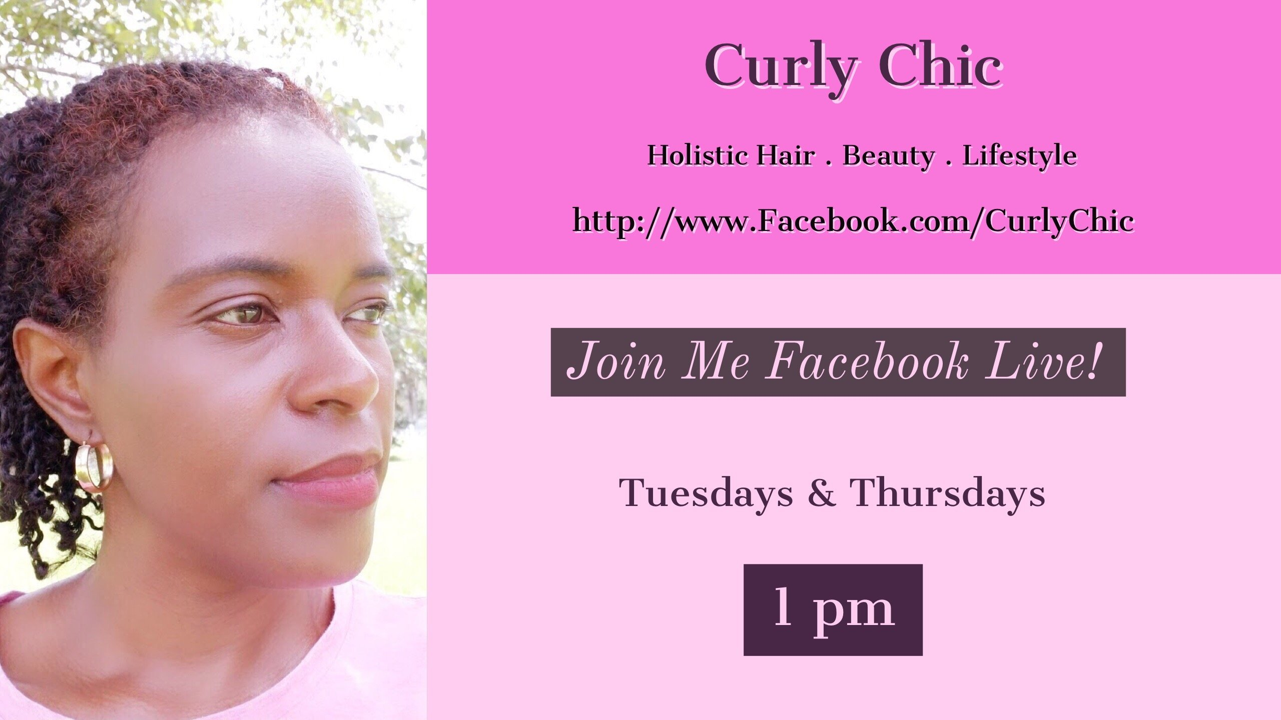 Facebook Live with Curly Chic